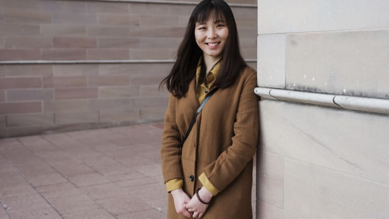 The 25 millionth Australian is likely to be a female student from China - like Molly Li who is studying law at UNSW.