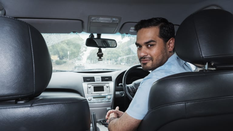 Sydney Uber driver Jawad Nazir paid for his wedding and university degree by driving for Uber.