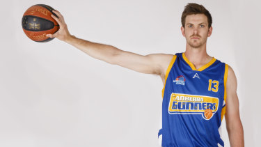Darcy Malone is back in Canberra Gunners colours.