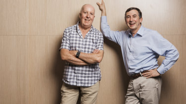 Cancer nurse practitioner Keith Cox and oncologist Michael Boyer met in 1981.