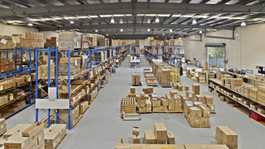 Velcro has offloaded its Hallam warehouse for $5.05 million.