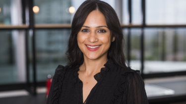Esha Oberoi says business owners must think about planning to protect their own emotional health this time of year.