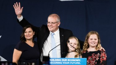 'How good is Australia!' Scott Morrison claims victory.