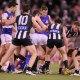 Ross Lyon said removing the wingmen from the players on the ground would be the easiest way to open play up.
