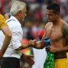 Socceroos feel 'lucky' to have played under Bert van Marwijk