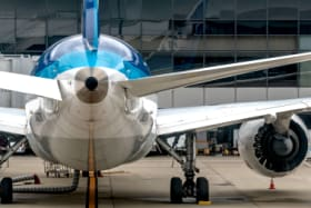 Why do commercial jet aircraft have a hole in their tail?