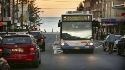 Dozens of Sydney bus services cut in eastern suburbs transport overhaul