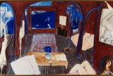 Henri's Armchair, by Brett Whiteley, painted in 1974 to 1975, to be auctioned by Menzies in Sydney on November 26 with an estimate of $5 million to $7 million.
