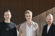Chunky Move artistic directors past and present, from left, Gideon Obarzanek, Anouk van Dijk and Antony Hamilton.