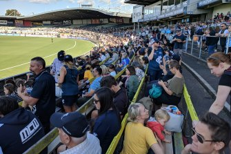 Crowds will be charged $10 a seat for this AFLW season.