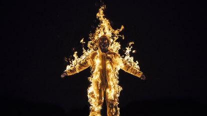 Dark Mofo pushes trauma boundaries with self-immolation and VR violence
