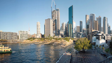 Construction of the renovated Circular Quay is expected to begin in 2023.