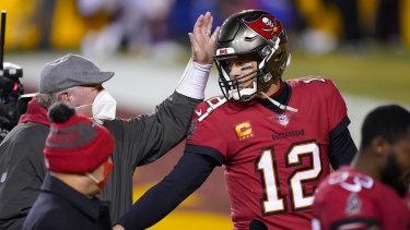 Tampa Bay quarterback Tom Brady.