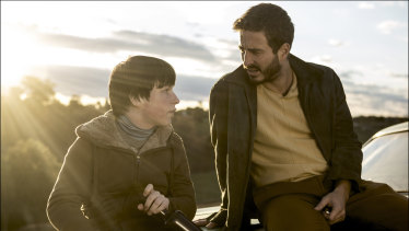 Thomas Fisher as Isaac and Ryan Corr as Young Sam.