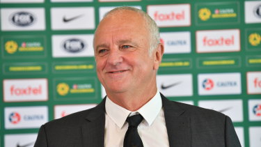 Smells like team spirit: coach Graham Arnold says the mood inside the Socceroos camp is buoyant.
