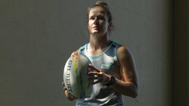 Australian enforcer Shannon Parry.