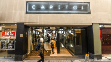 Some 93 lot owners had to agree to refurbish Capitol Arcade.