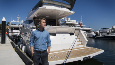 Hugh Treseder, founder of Flotespace, an online marketplace that enables boats berthed in marinas to be used for overnight accommodation.