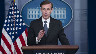 White House national security adviser Jake Sullivan said the pace of evacuations from Kabul was dramatically increasing.