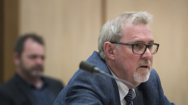 Foodco Group managing director Serge Infanti appeared before the parliamentary franchising inquiry last year.