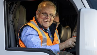 Scott Morrison is a man racing against the future.
