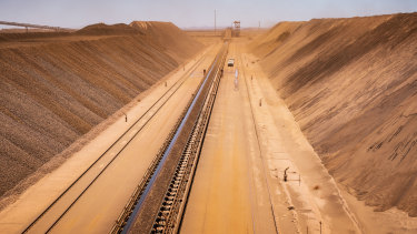 BHP's West Australian iron ore business has displaced Rio Tinto's as the world's lowest-cost iron ore producer.
