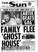 The Sun newspaper front page from April 30, 1980.