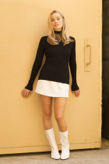 Margot Robbie as Sharon Tate, who was a style icon before her untimely death in 1969.