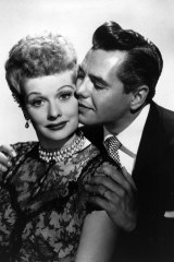 Lucille Ball and husband Desi Arnaz.