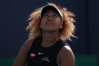Naomi Osaka objects to being asked to second guess herself.