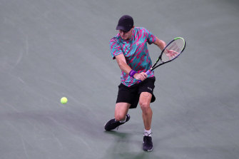 Christopher O'Connell is out of the US Open after a straight-sets loss to third seed Daniil Medvedev.