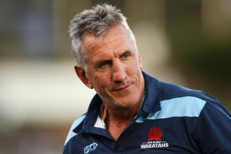 Rob Penney is under the pump.