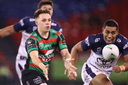Four-game wonder Blake Taaffe will wear the No 1 for Souths.