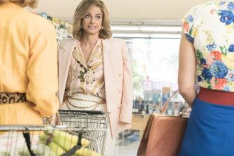 Bringing '80s trends back ... Amanda Peet as Betty Broderick in series two of Dirty John.