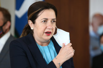 Queensland Premier Annastacia Palaszczuk has closed the borders to Victoria but left wider NSW open.