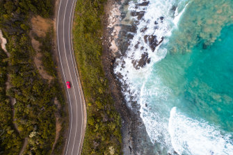 The $465 million tourism package will include $47.5 million for infrastructure on the Great Ocean Road.