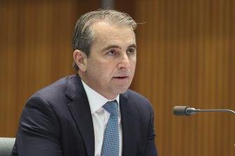 Commonwealth Bank chief executive Matt Comyn has raised concerns over Apple's market power.