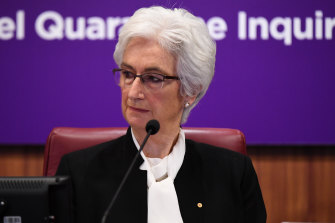 Victoria's hotel quarantine inquiry hearings, chaired by Justice Jennifer Coate, resume on Monday.