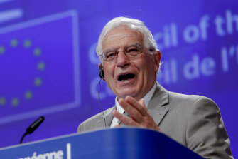 European Union foreign policy chief Josep Borrell.