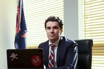 Labor's assistant spokesman for communications and cybersecurity Tim Watts likened ransomware crews to pirates.