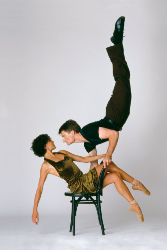 David McAllister and Vicki Attard in El Tango, 1999.