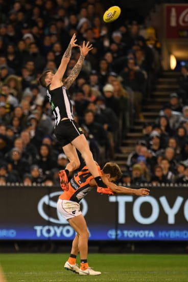 Jeremy Howe will have to play tall again in 2019.