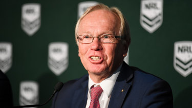ARL Commission chairman Peter Beattie will be front and centre at League Central on Thursday.