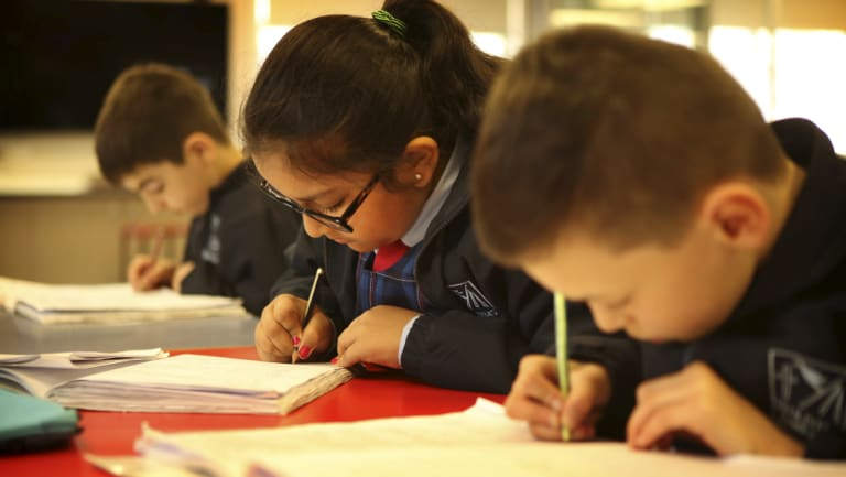 NAPLAN results show writing performance has continued to decline, and teachers at St Oliver's Primary School say they will look at which areas they need to focus on when they receive the results on Tuesday.