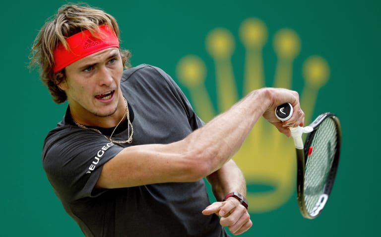 Demon slayer: German Alexander Zverev dispatches Alex de Minaur in Shanghai.