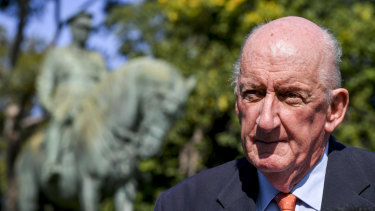 Former deputy prime minister Tim Fischer has led the campaign to recognise Sir John Monash.