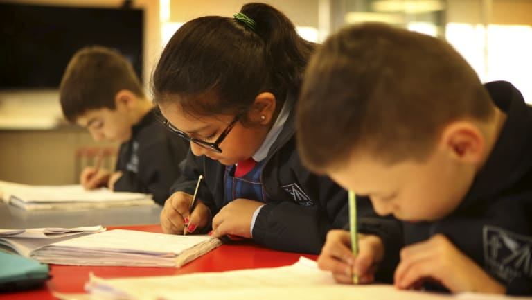 Writing results have gone backwards and there have been no gains in numeracy, spelling or grammar and punctuation tests for any year group in NSW since 2008.