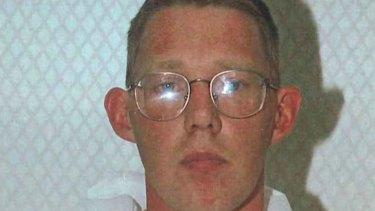 A mugshot of Christopher Lewis taken on October 5, 1997.