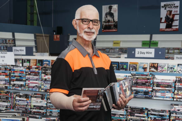 An unexpected challenge is about to close down one of Sydney's last DVD stores