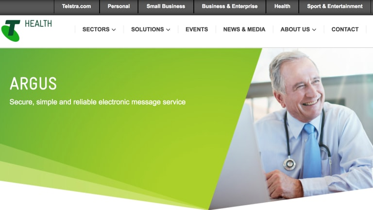 Telstra alerted medical practitioners to the flaw in early February.